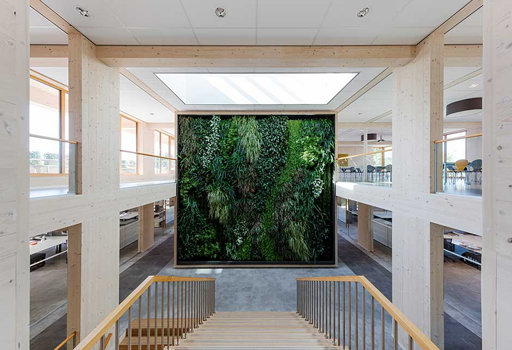 VELUX Modular Skylights in Geelen Counterflow