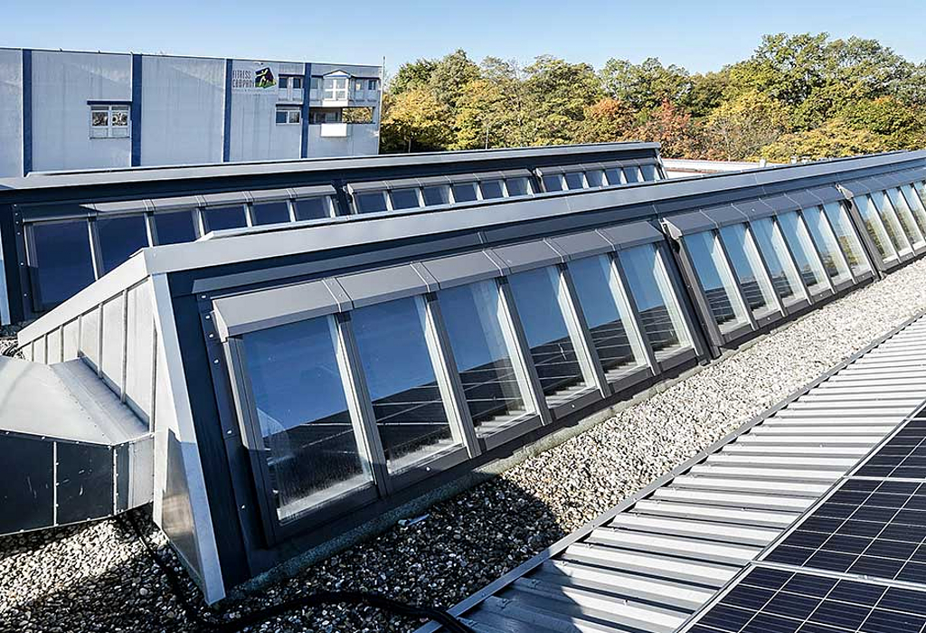 VELUX Modular Skylights in Schöllkopf Backwaren