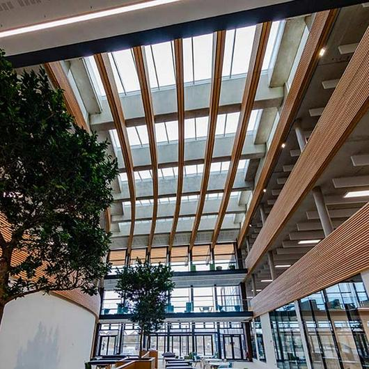 VELUX Modular Skylights in UK Hydrographic Office