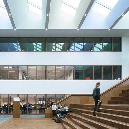 VELUX Modular Skylights in Merlet college