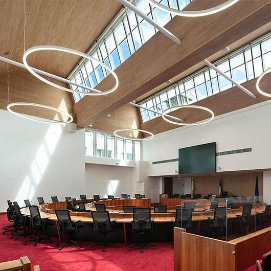 VELUX Modular Skylights in Dún Laoghaire–Rathdown County Council