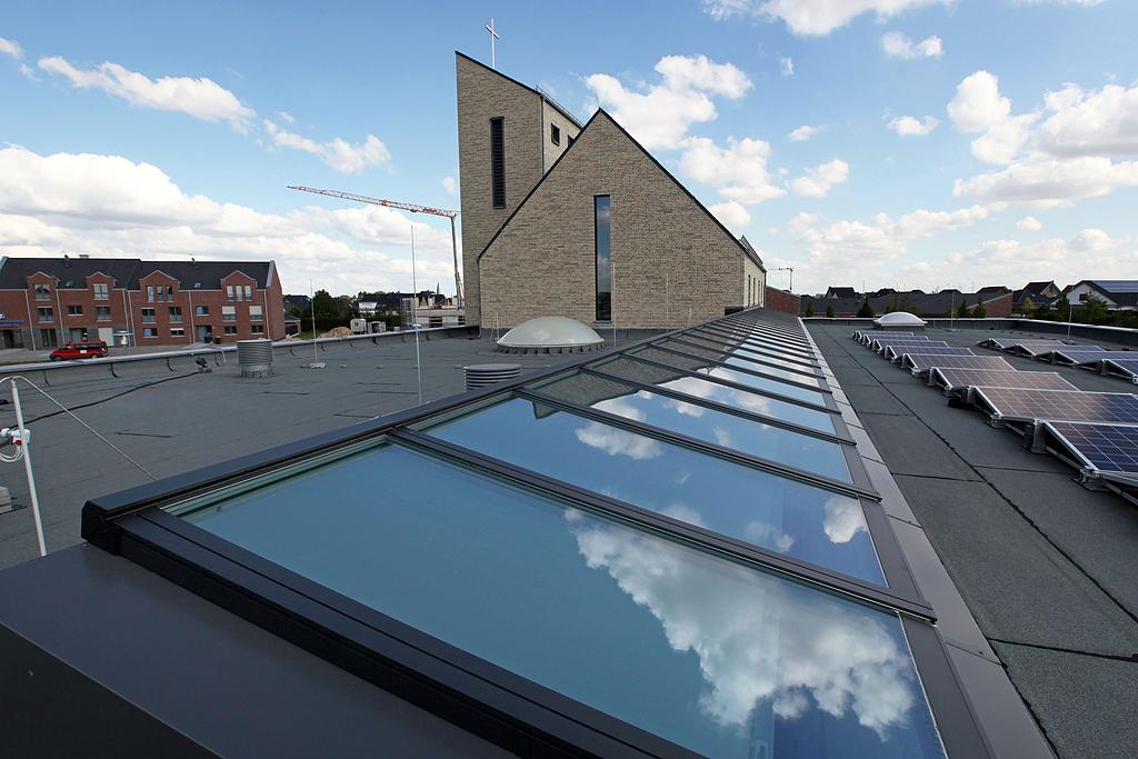 VELUX Modular Skylights in Kirche Erkelenz