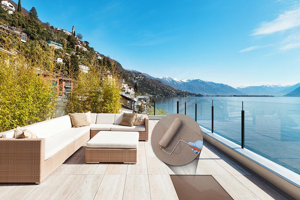 Impermeabilizante flexible para terrazas - Mapelastic Smart