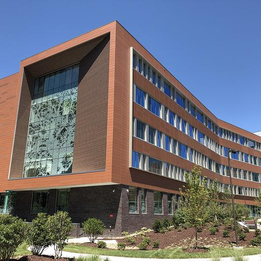NeaCera Rainscreen Façade System in Healthcare