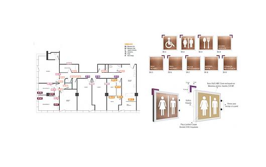 Servicios de arquitectura Dekomas | Señaletica