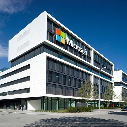 Facade Cladding - Microsoft Germany HQ / Corian® Exteriors