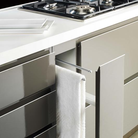 Muebles de cocina termolaminados o melamínica