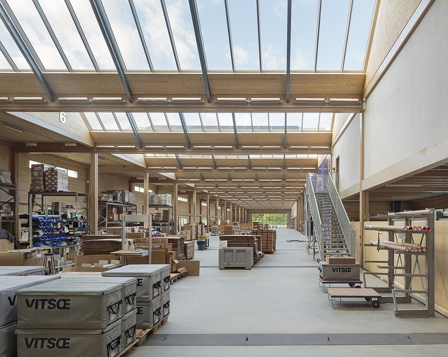VELUX Modular Skylights in Vitsoe HQ