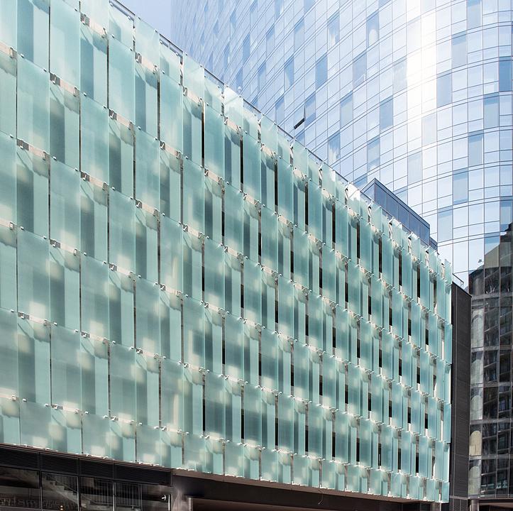 Ventilated Glass Façade Systems