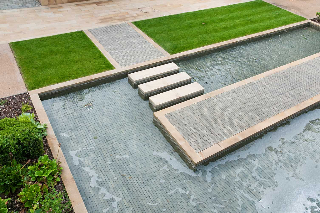 Clay Pavers in Fulham Riverside