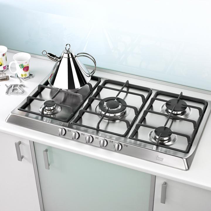 Cocinas encimeras a gas de teka - Encimeras de cocina de cristal ...
