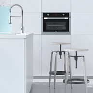 hornos empotrables de teka. Black Bedroom Furniture Sets. Home Design Ideas