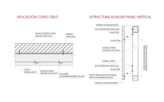 Detalhamento | Painéis Single Skin - Painéis 150FS|220FS|300FS | Hunter Douglas Brasil