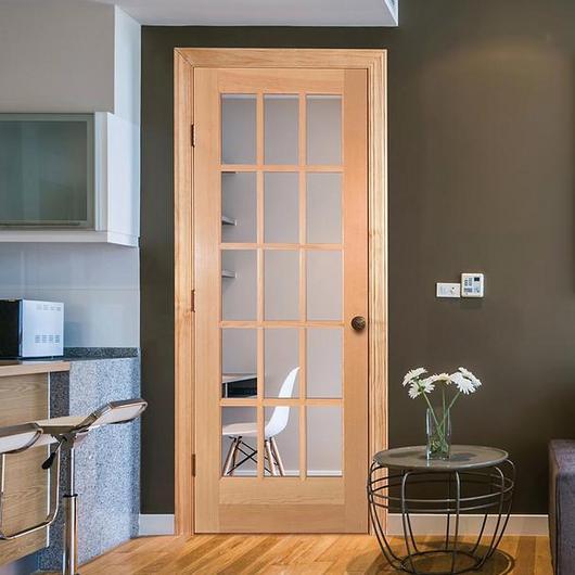 Puertas sólidas de madera
