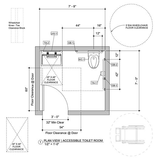 Accessible Bathroom System | Bradley