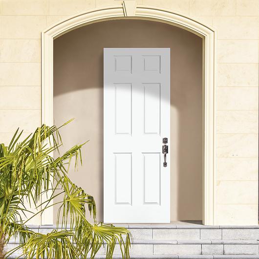 Puertas exteriores de acero