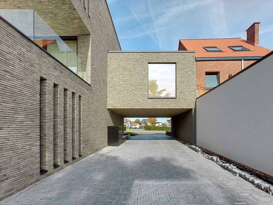 Facing Bricks in Residentie Orion