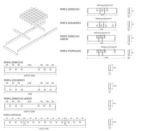Detalhe | Forros Metálicos - Multicell | Hunter Douglas Brasil