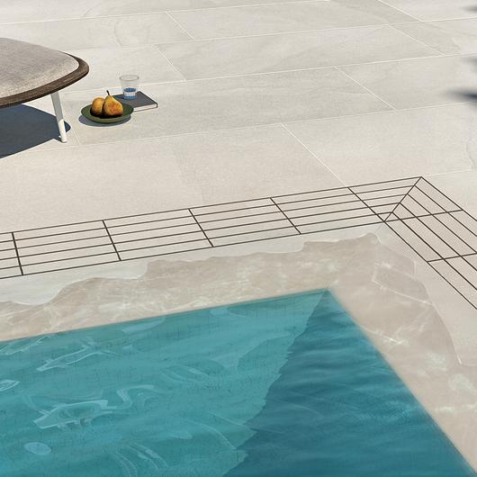Porcelanatos  para piscinas Aquae / Atika