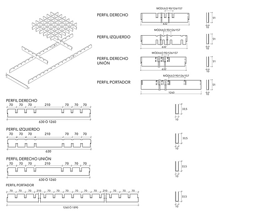 Detalhe | Forros Metálicos - Cell | Hunter Douglas Brasil