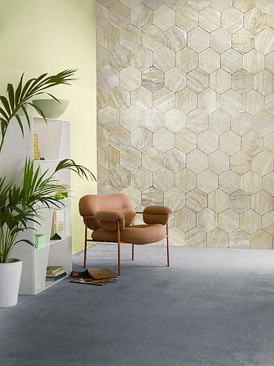 Travertino Wash Hexagonal