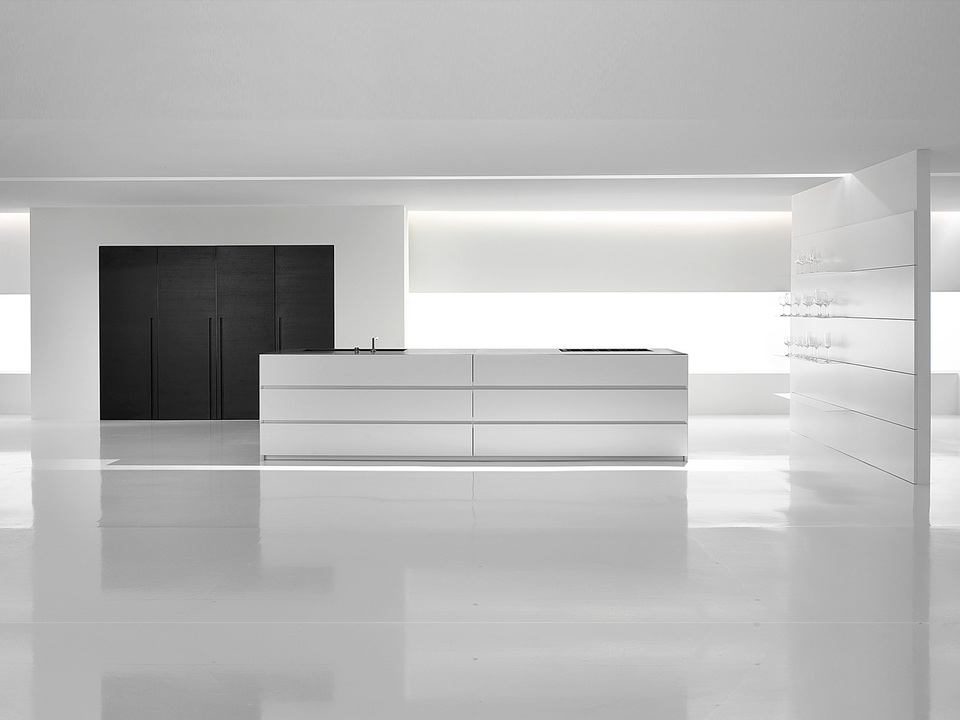 Verve kitchen from minimal usa for Minimal space