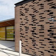 Clay Wall Brick in Louise Michel School