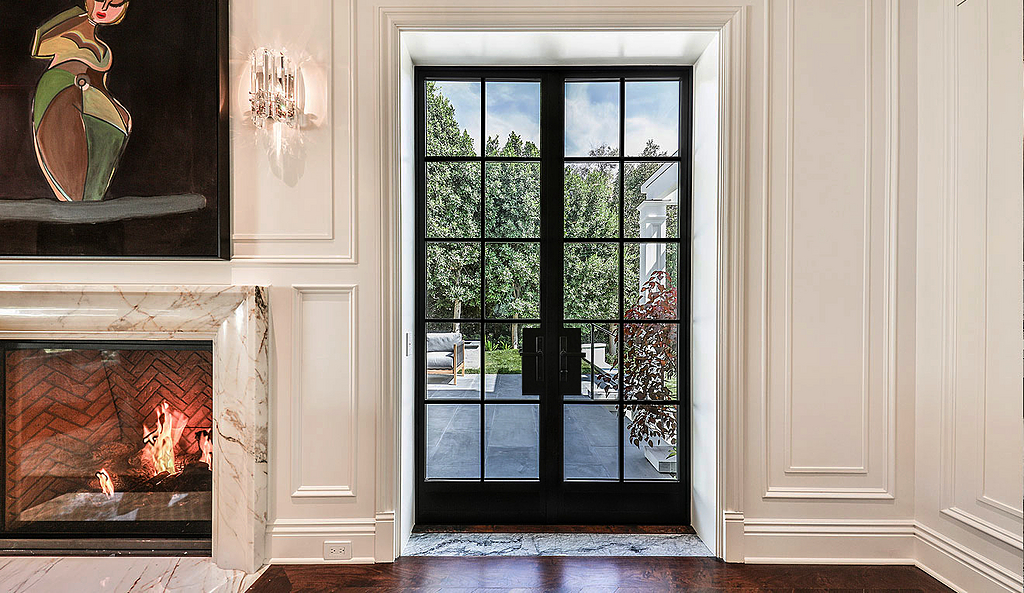 Thermal Aluminum French Door - T225 Steel Look