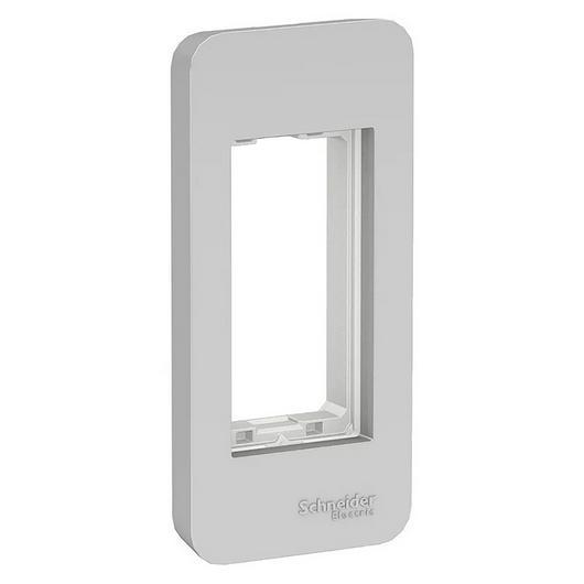 Placa-suporte para divisórias para interruptores e tomadas / Schneider Electric