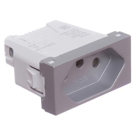 Módulo Tomada BR 2P+T 10A 250 / Schneider Electric