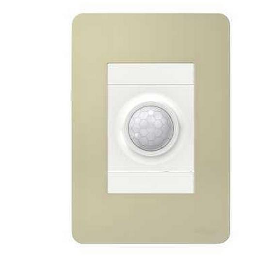 Placa 4x2 3P/ALU para interruptores e tomadas - Essence Horizon Gold / Schneider Electric