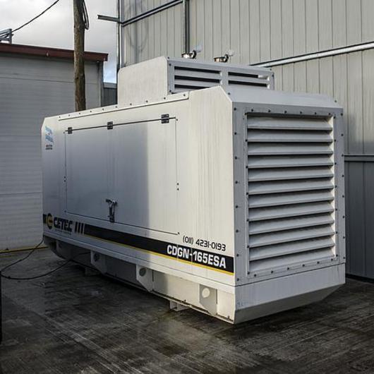 Generador eléctrico a gas