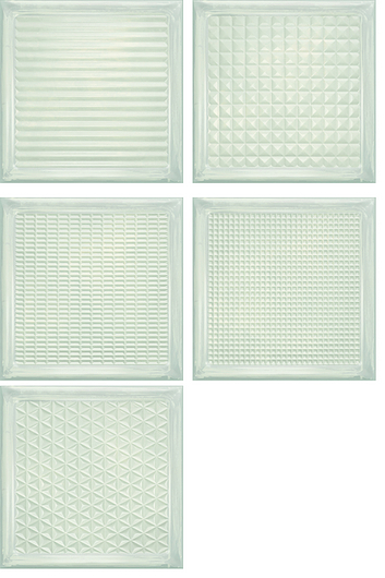 Aparici - Glass Collection - White Brick