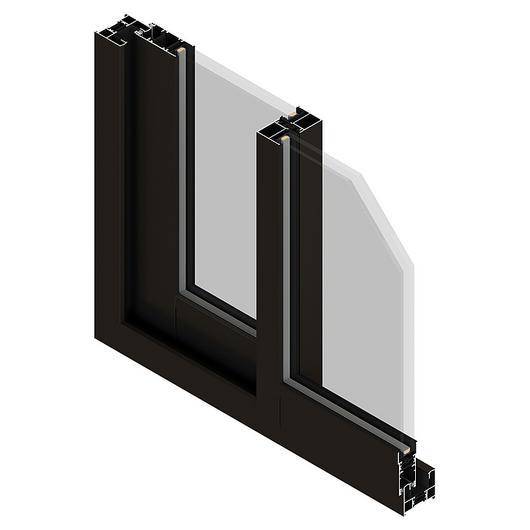 Perfil de aluminio para ventanas 300 S 60 - Línea Eternity