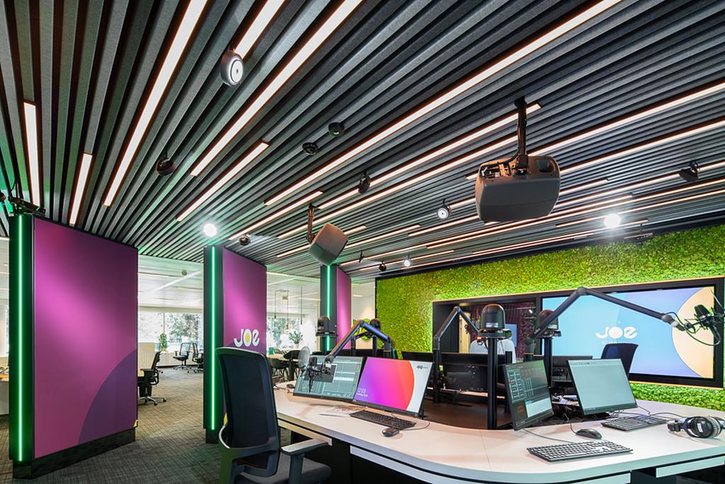 Acoustic Ceilings – HeartFelt® Linear Ceilings