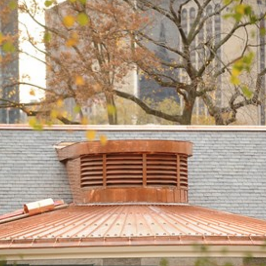 CooperCraft Cupola, Louvers and Gutters in Tavern on the Green / Omnimax