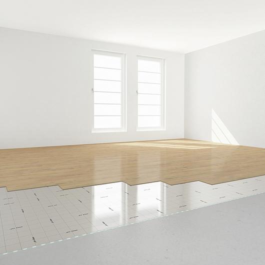 Base aislante para pisos fotolaminados y madera - Selitac Aquastop 2.2 mm