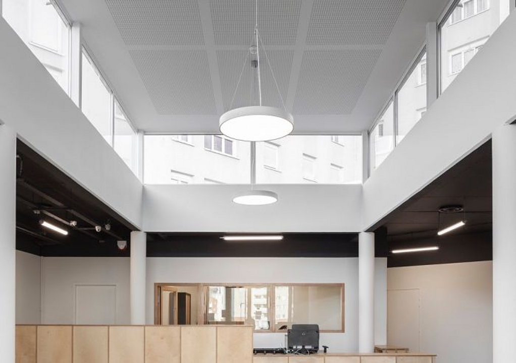 Round Architectural LED Light Fixture – Skyline
