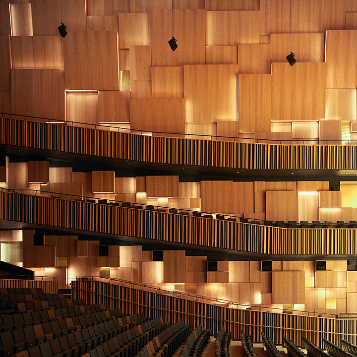 Acoustic Panels in Malmö Live Concert Hall