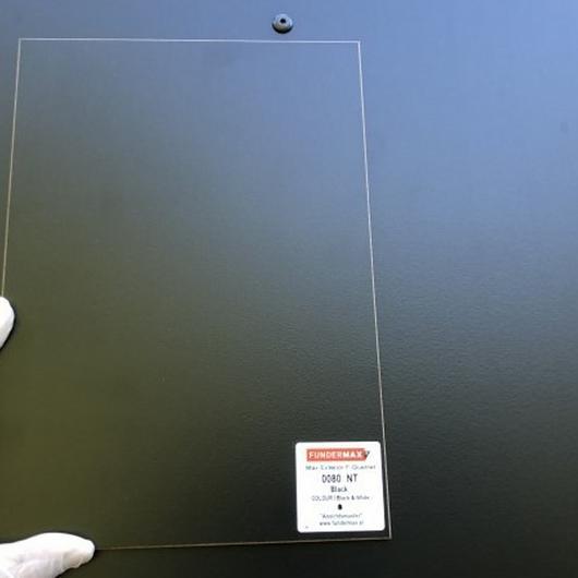 Limpieza de paneles HPL en fachada / FunderMax