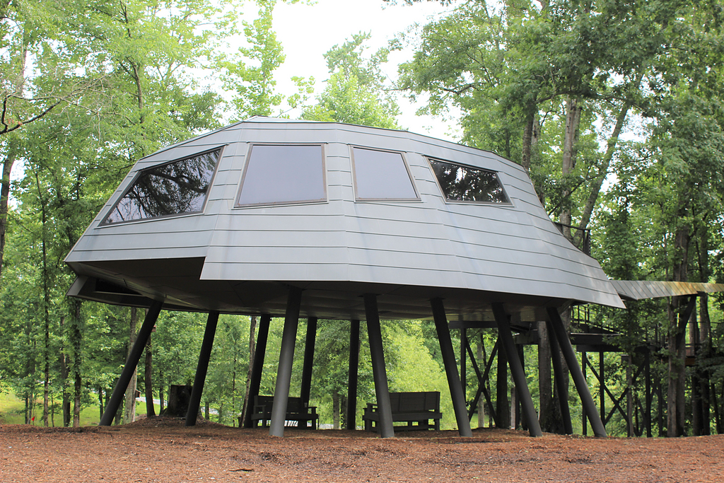 Zinc Slate in Space Crab Treehouse