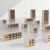 Mobiliario de Melamina desarrollado por Joel Escalona en Vértice