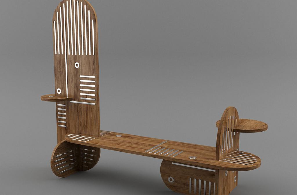 Mobiliario de Melamina desarrollado por Laura Noriega en Vértice