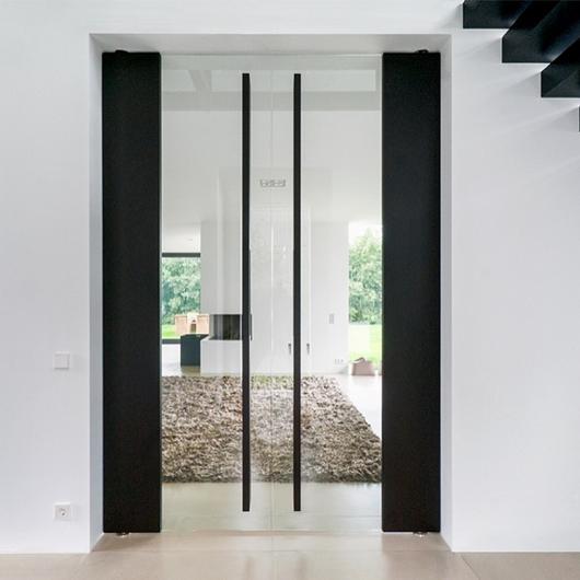 Pivot Hinges for Glass Pivot Doors / FritsJurgens