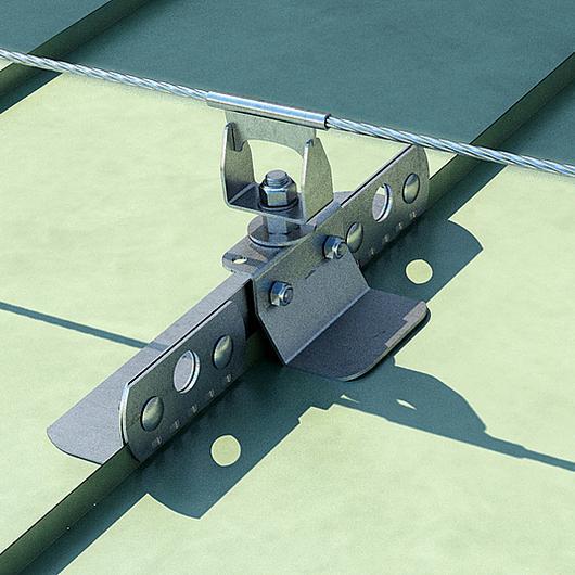 Sistema de ponto de ancoragem de segurança - SIANK / Rothoblaas