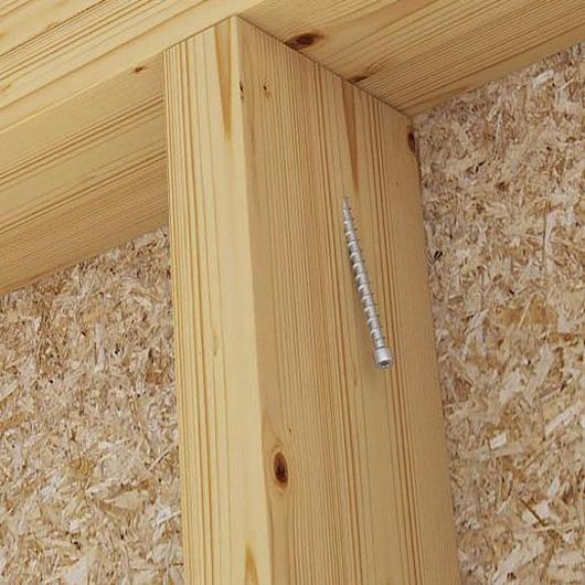 Mini tornillo de rosca completa para madera  - VGZ EVO FRAME
