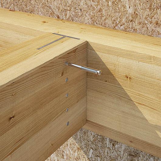 Pasador autoperforante para juntas de madera y acero - SBD