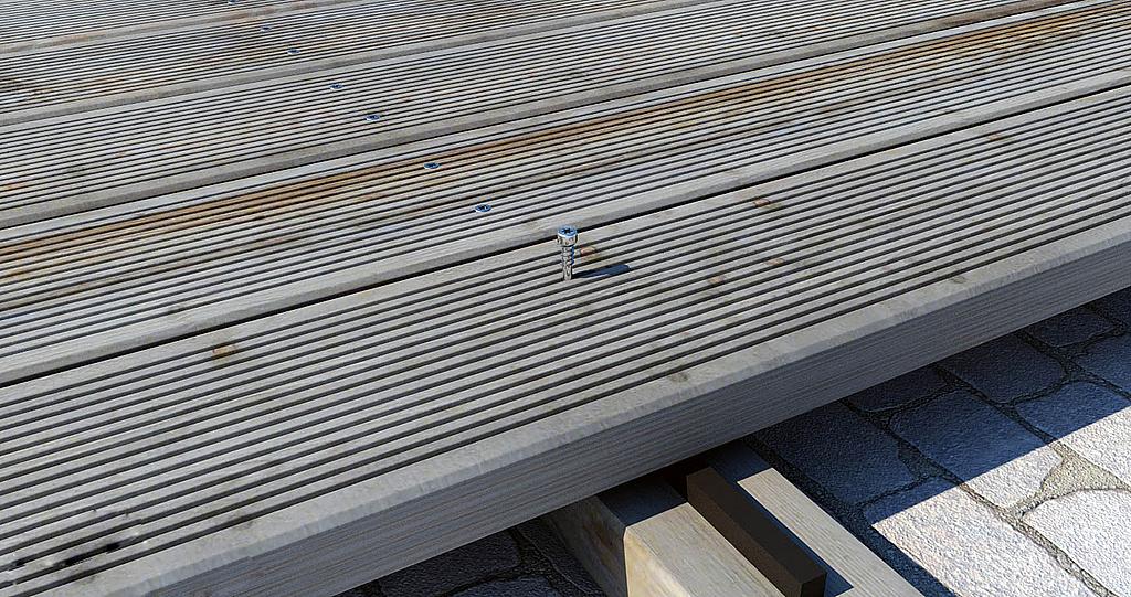 Tornillo para maderas duras - KKZ A2