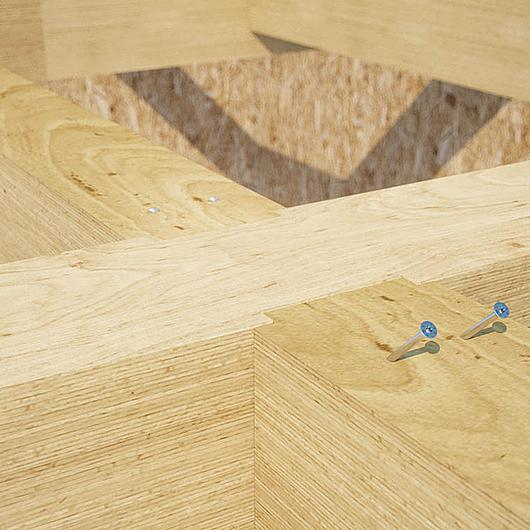 Parafuso de cabeça de embeber para madeiras duras  - HBS HARDWOOD / Rothoblaas
