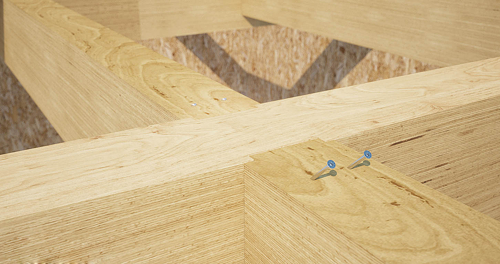 Parafuso de cabeça de embeber para madeiras duras  - HBS HARDWOOD